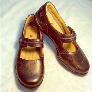 Bronze 6.5 Clarks/Unstructured Artisan leather